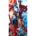 Toalla de los Vengadores Marvel Capitan America Iron Man algodon