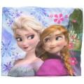 Braga de cuello de frozen hermanas Elsa y Anna con careta de Elsa Polar