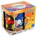 taza de ceramica con dibujos de Pokemon Pikachu con asa desayuno Mug
