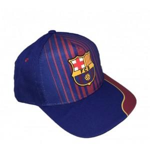 Gorra del Barcelona Barça Azul y Granate con escudo y visera