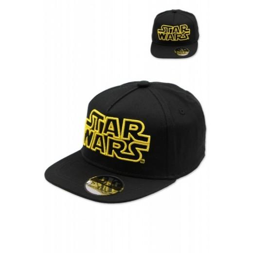 Gorra con letras de Star Wars bordadas con visera HipHop xXx StandRebellion