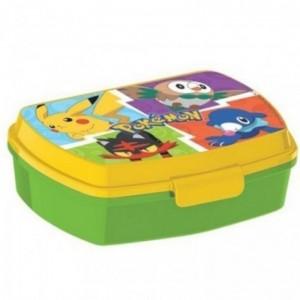 sandwichera de Pokemon caja para llevar comida al colegio guarderia Pikachu