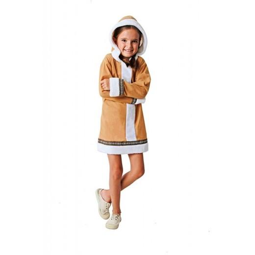 Disfraz de esquimal para niña traje de invierno esquimales carnaval de chica