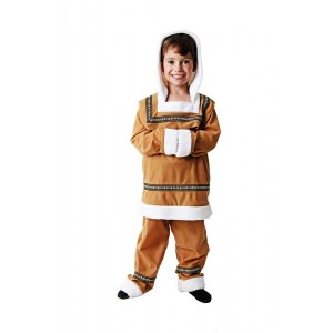 Disfraz de esquimal para niño traje de invierno esquimales carnaval