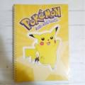 Libreta de Pokemon Pikachu a rayas Amarilla A4 Nintendo Edicion Limitada dura