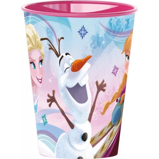 Vaso de Frozen 2 Elsa y Anna olaf para niños 260ml de plastico pelicula dibujos
