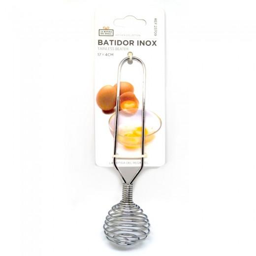 Batidor de huevo acero inoxidable batidora manual para postres varilla batidora