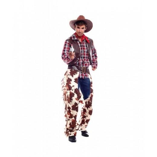 Disfraz de vaquero Cowboy del oeste adulto hombre western