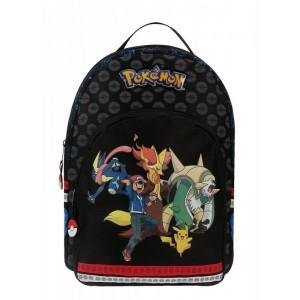 Mochila Pokemon pequeña estrecha version Evolution pikachu con dibujos