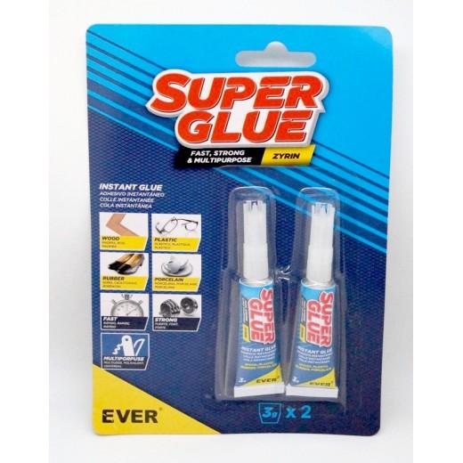 Pegamento SuperGlue pegamento instantaneo muy rapido Super Glue 2 3g