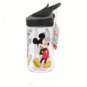 Botella tritan de Mickey Mouse para agua con boquilla automatica bebedor 480 ml
