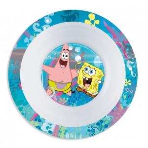 Cuenco de Bob esponja y patricio de melamina plato hondo
