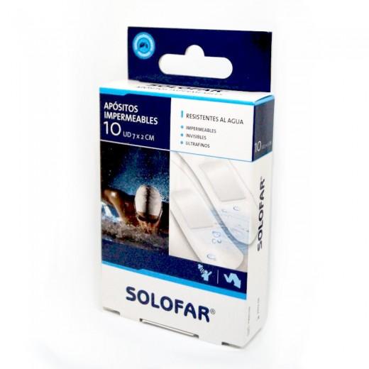 tiritas apositos transparentes impermeables resistentes al agua 10 unidades