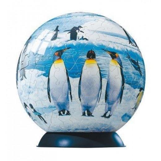 PUZZLEBALL imagenes de PINGÜINOS Puzzle 3D esfera de 240 piezas redondo