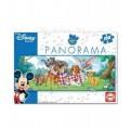 PUZZLE de 100 piezas infantil de animales Disney amigos pequeño panorama alargad