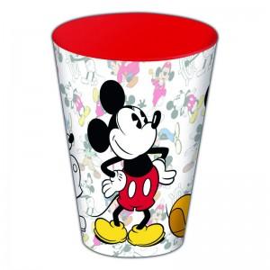 VASO de mickey mouse edicion 90 años plastico 430 ML MICKEY 90 YEARS rojo