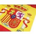 Bandera de España de 60x90 cm bandera con escuado de españa grande nacinal