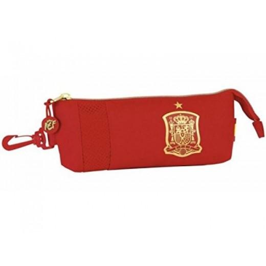 PORTATODO estuche rojo seleccion española la roja ESPAÑA SELECCIÓN