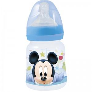 BIBERÓN de CUELLO ANCHO 150ml de MICKEY Mouse BABY PAINT POT