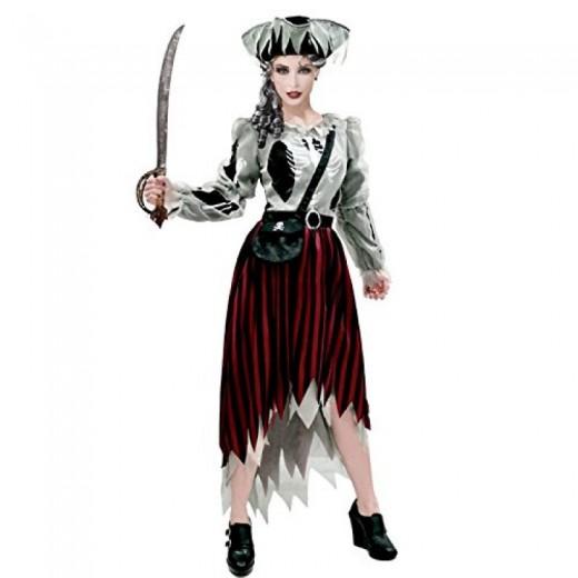 disfraz de Fantasma Pirata para mujer Ghost Pirate