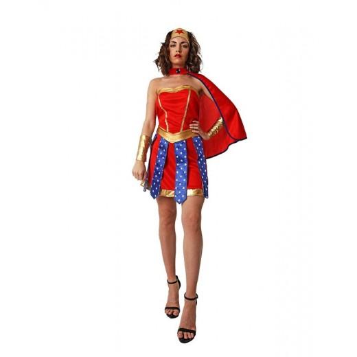 Disfraz de mujer maravilla super heorina super Woman