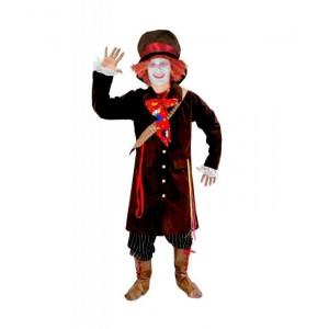 Disfraz de sombrerero hombre tipo sobrerero loco de alicia