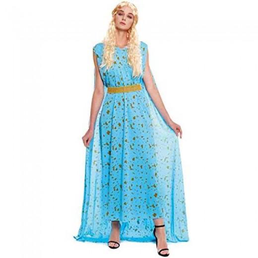 Disfraz de Princesa dragon reina de los dragones carnaval rubia