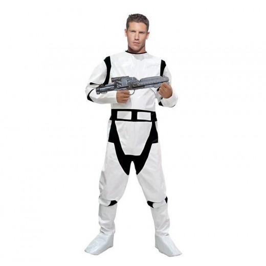 Disfraz de soldado estelar tipo Star Wars paratrooper