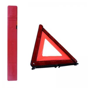 Triangulo de emergencia para coche homologado de vehículo con soporte triángulos