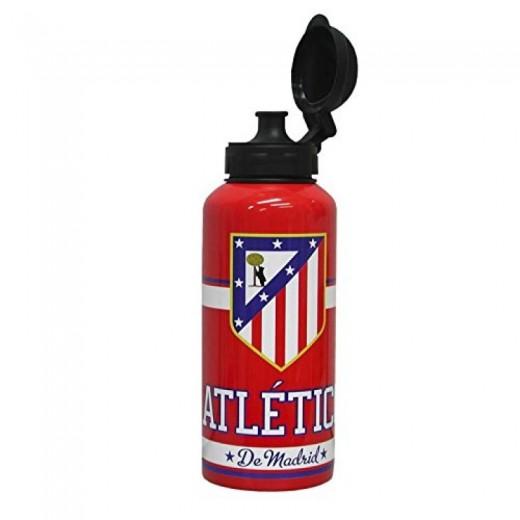 Botella de aluminio del atletico de madrid para agua y bebidas