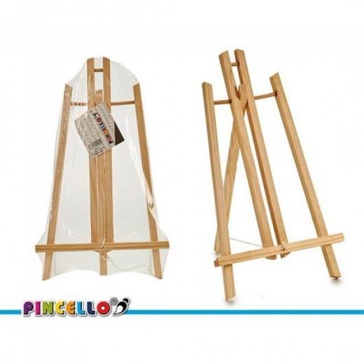 caballete de madera para pintar lienzos o leer libros atril de madera de pino