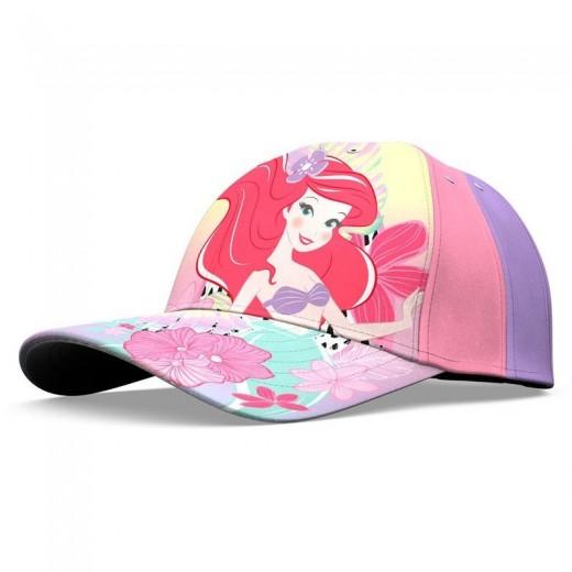 Gorra de la sirenita ariel de Disney gorra con visera de princesa sirena