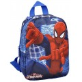 Mochila de Spiderman mediana Azul edición limitada Mavel Spider man