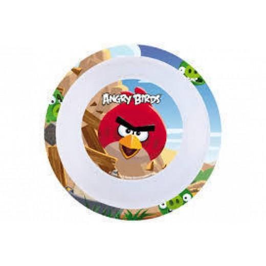 Cuenco de Angry Birds de melamina con los dibujos de pajaros infantil 16 cm