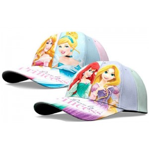 Gorras de princesas disney con visera ariel cenicienta razpuncel bella durmiente