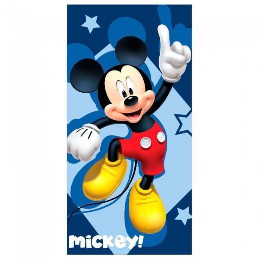 TOALLA de Mickey Mouse para playa piscina secado rapido original Dinsey azul