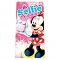TOALLA de Minnie Mouse de Algodón para playa piscina color rosa Disney selfie