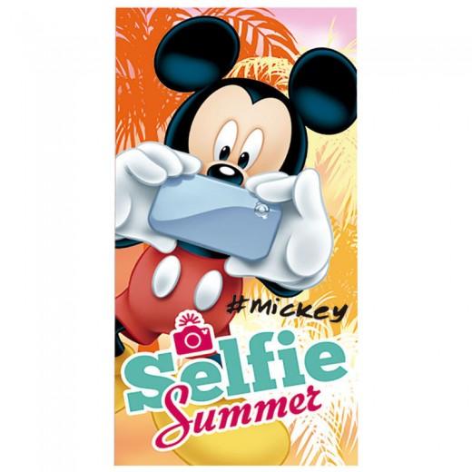 TOALLA de Mickey Mouse de Algodón para playa piscina original Disney selfie