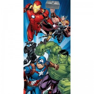 Toalla de los Vengadores Marvel Capitan America Iron Man secado rapido playa