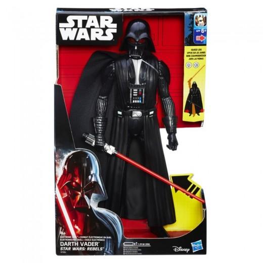 Figura Darth Vader y Kanan Jarrus de Star Wars 28cm Con sonido de espada y luz