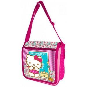 Bolso Bandolera de Hello Kitty rosa para niña o adulto gato con lacito