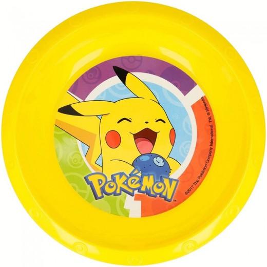 Cuenco de Pokemon Amarillo de Pikachu PVC para niños plastico