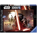 PUzzle Star Wars de 1000 piezas el despertar de la fuerza 2 bandos VII