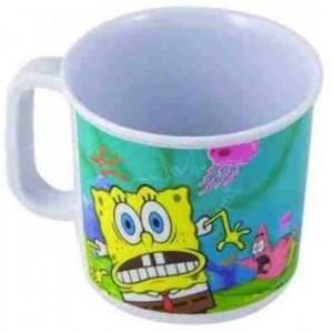 Taza de Bob Esponja de melamina deibujos bob esponja y patricio