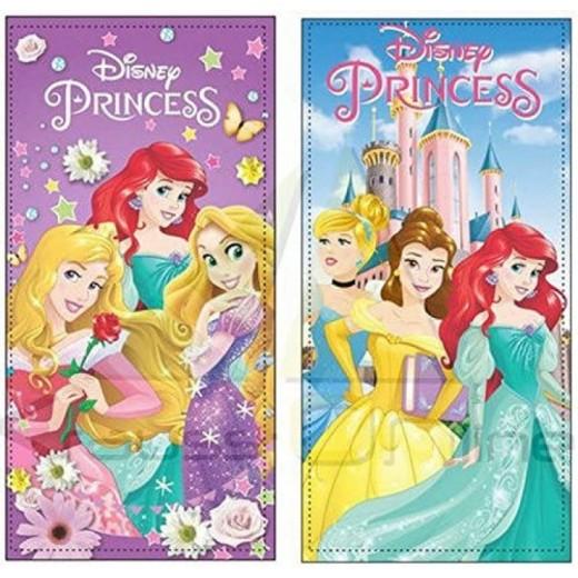 Toallas de las princesas Disney para playa piscina de algodón 2 modelos