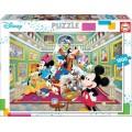 Puzzle de personajes Disney 1000 Piezas galería de Arte de Mickey Mouse