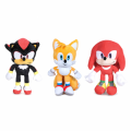 Peluche de Knuckles the Echidna Knuck Rad Shadow o Tails Sonic 30cm