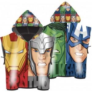 poncho toalla de Vengadores Avengers Thor Hulk capitán iron secado rápido marvel