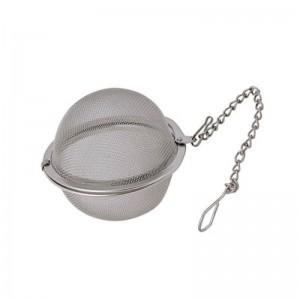 Bola filtro para infusiones de hacer té o infusión con cadena 4,5 cm