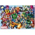 Puzzle personajes de Marvel con los personajes de Marvel dibujos 1000 piezas